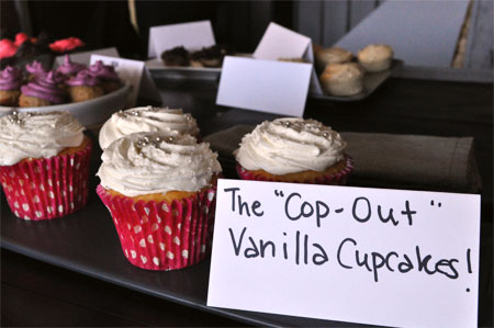 Cupcake Party - Cop-out Vanilla