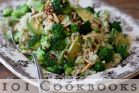 101 Cookbooks - Broccoli Pesto Quinoa