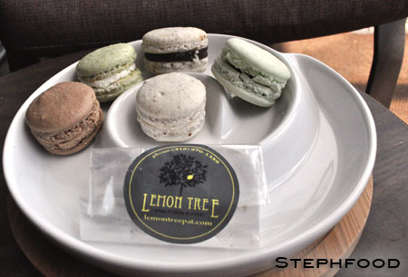 Lemon Tree Macarons - assortment