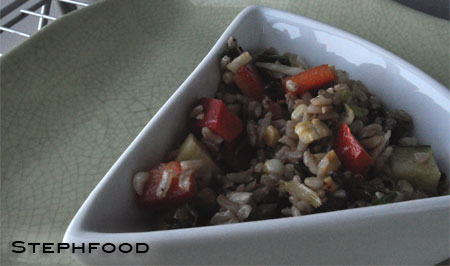 Corn & Rice Salad
