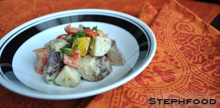 Grainy Mustard Potato Salad