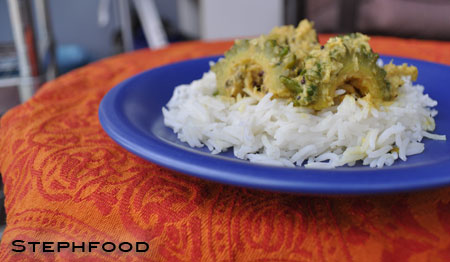 Curried Bitter Gourd