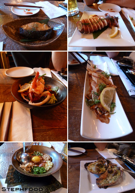 Guu Izakaya - Food Collage