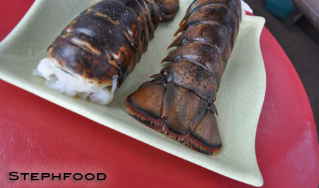 BBQ Lobster -raw tails