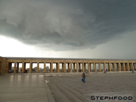 Storm Brewing -  Anıtkabir, Ankara, Turkey