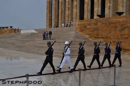 Marching - Anıtkabir, Ankara, Turkey