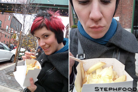 Distillery Xmas Market - Raclette Fries