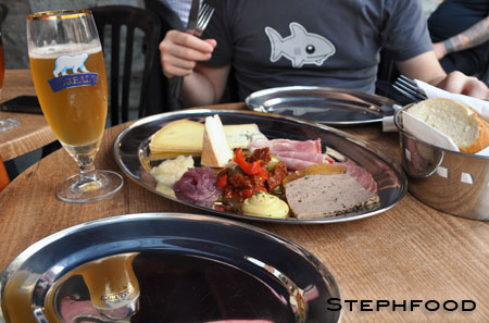 Le Pape Georges - cheeses, meats, breads and beer
