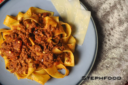 Slow-Cooker Bolognese
