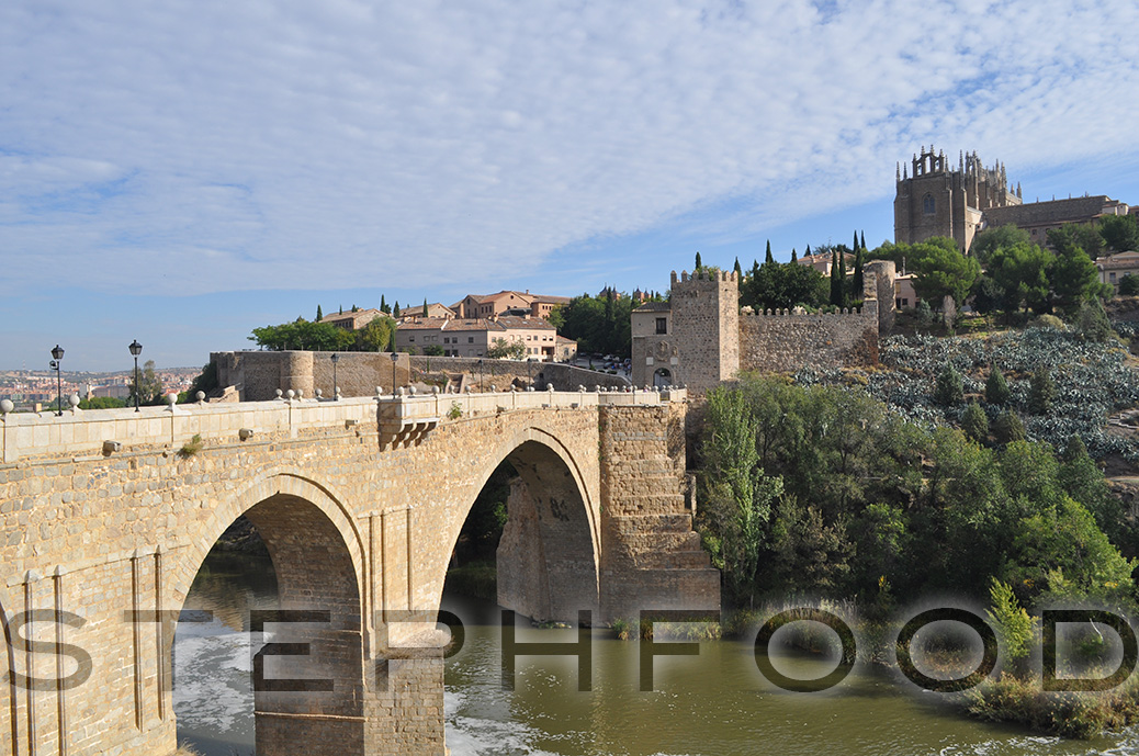 Bridge in Toledo, Spain