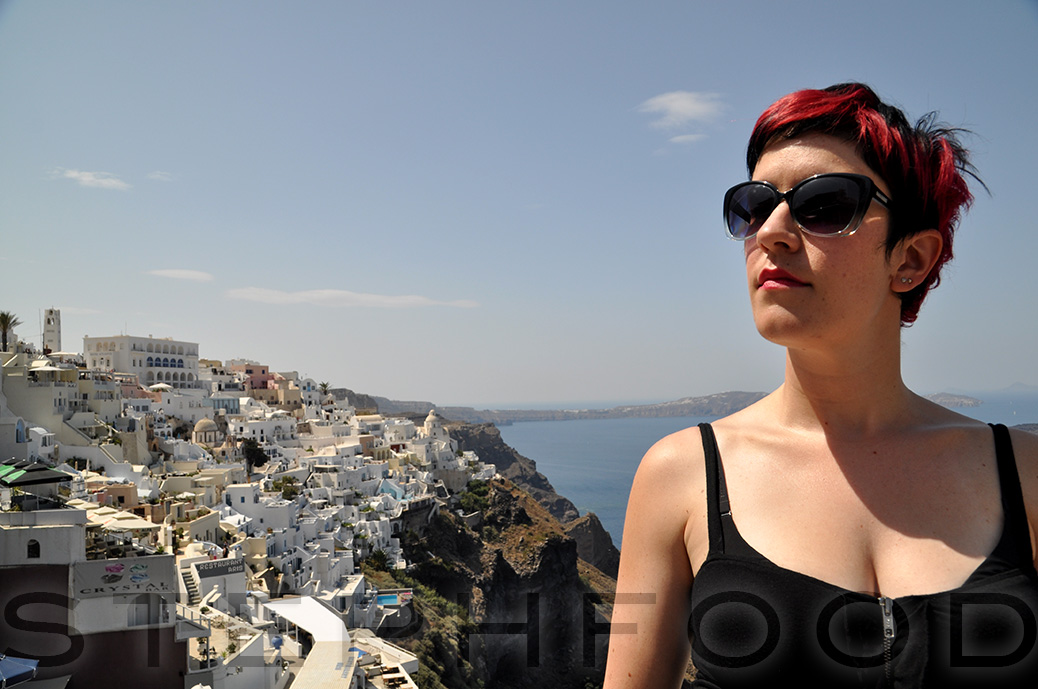 Steph in Fira